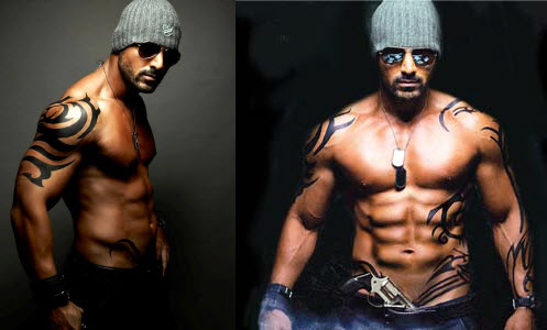 john abraham body gym workout