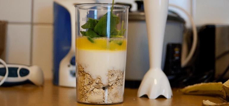 healthy protien breakfast smoothie