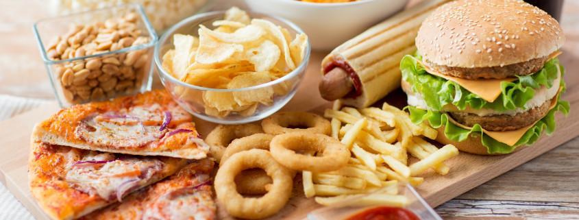 fried junk foods