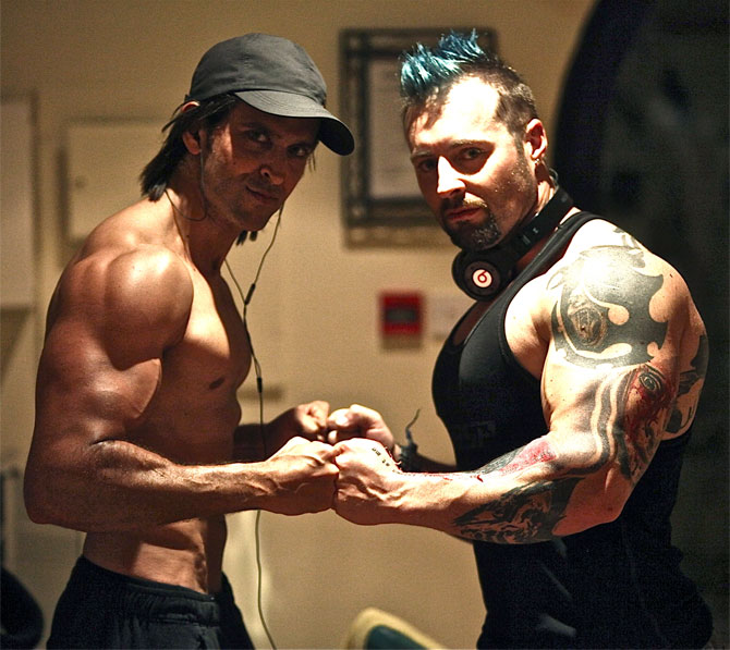 Hrithik Roshan Workout with Kris Gethin