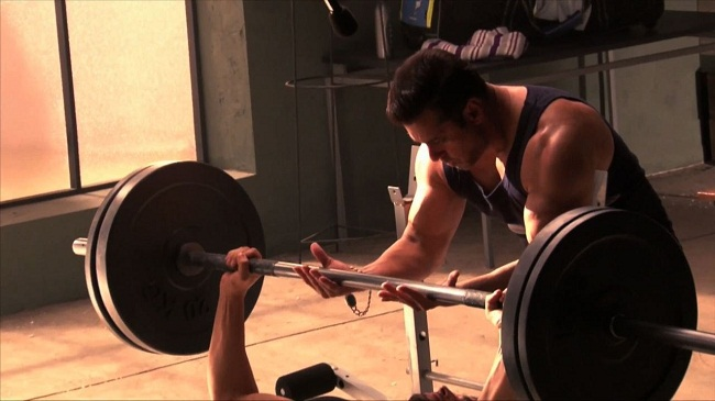Salman Khan Body Building