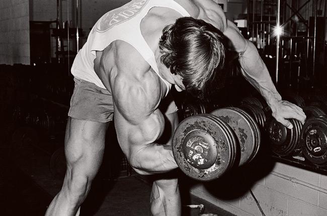 Arnold Schwarzenegger Bicep Workout