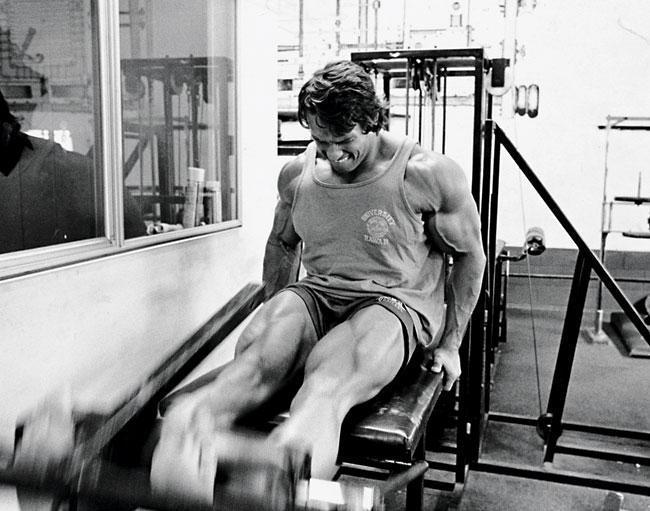 Arnold Schwarzenegger Leg Workout
