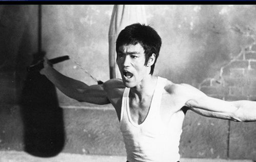 Bruce Lee Workout Pictures