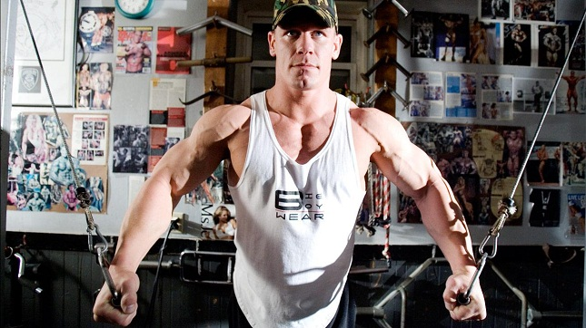 John Cena Workout Pictures