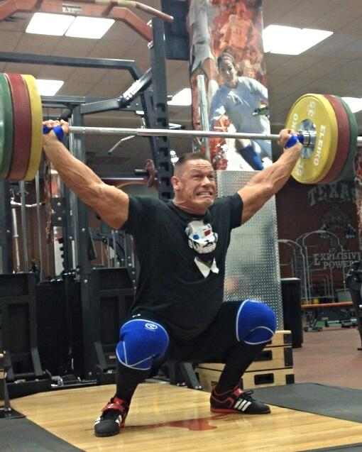 John Cena Workout in Gym