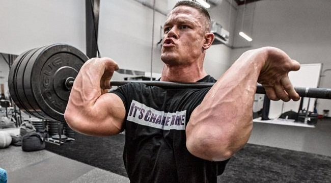 WWE Superstar John Cena Diet And Workout Routine