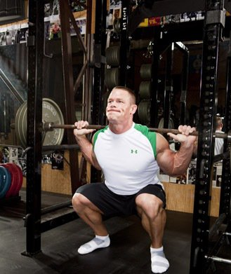John Cena Workouts