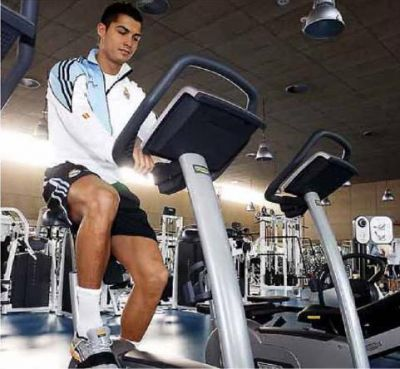 Cristiano Ronaldo Workout Pictures