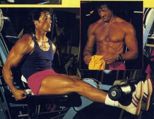 Sylvester Stallone Young   Born to Workout   Born to Workout