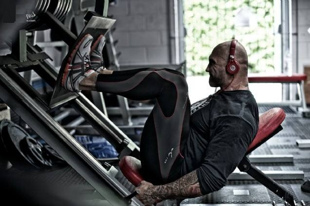 Dave Batista Workout Pictures