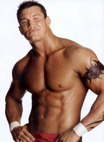 Randy Orton Workout Pictures