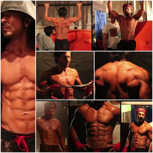 Shahrukh Khan's Workout Regime and Diet Plan for Happy New ...