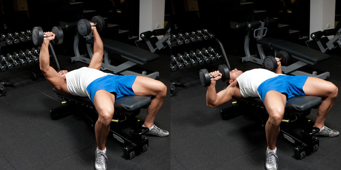 Decline Dumbbell Bench Press Pictures Video Guide And