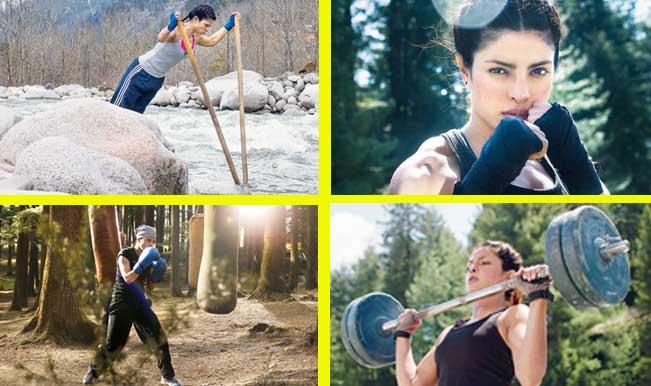 Priyanka Chopra Mary Kom Workout