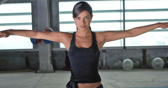 Priyanka Chopra Workout