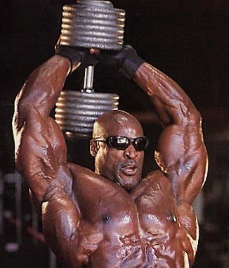 Ronnie Coleman Tricep Workout