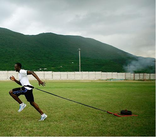 Usain Bolt Training
