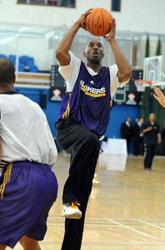Kobe Bryant Training