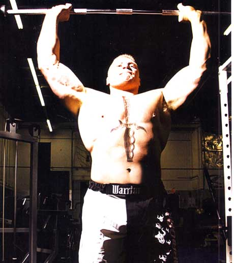 Brock Lesnar MMA Workout