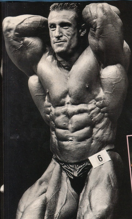 Dorian Yates Abs
