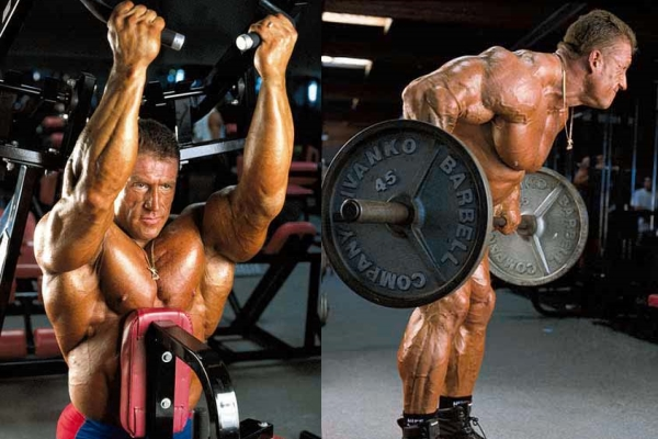 Dorian Yates Back Workout