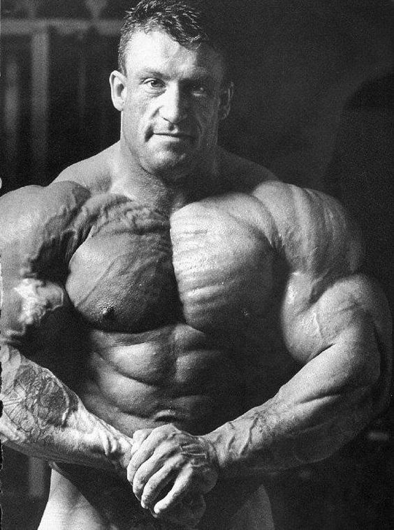 Dorian Yates Chest