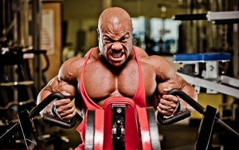 Phil Heath Back Workout
