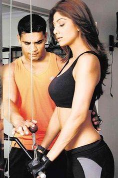 Shilpa Shetty Exercise