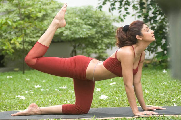 Image result for shilpa shetty doing yoga