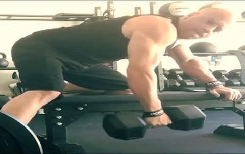 Vin Diesel Arm Workout