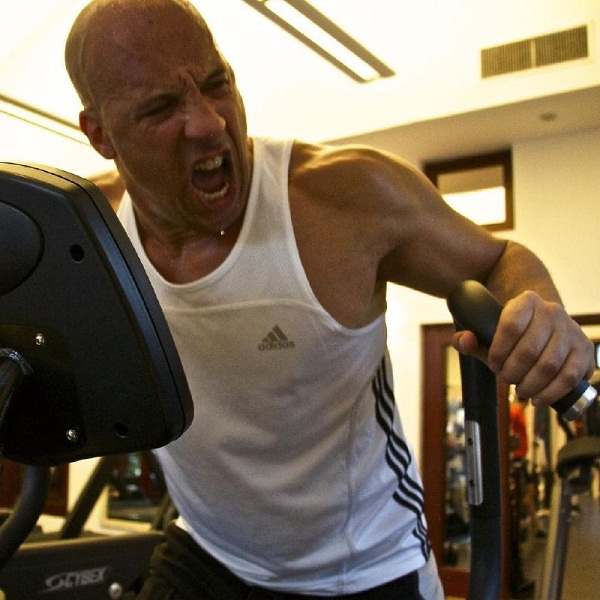 Vin diesel workout routine diet and body stats
