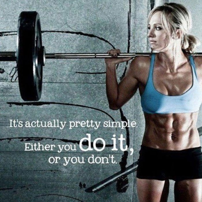 Female Gym Motivation Quotes