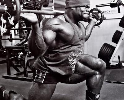 Kai Greene Workout
