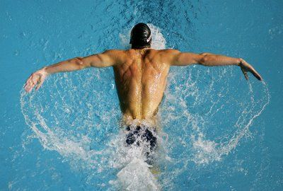 Michael Phelps Erfly Workout