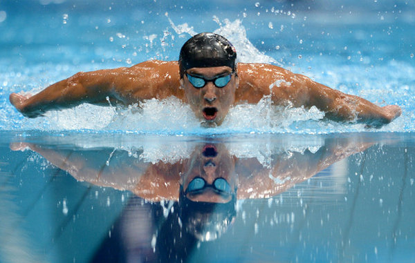 Michael Phelps Swim Workout