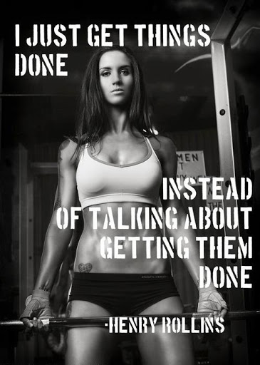 Gentil Female Workout Quotes
