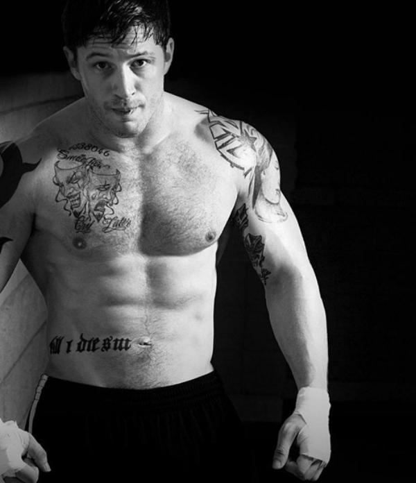 Tom Hardy Body
