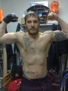 Tom Hardy Muscle