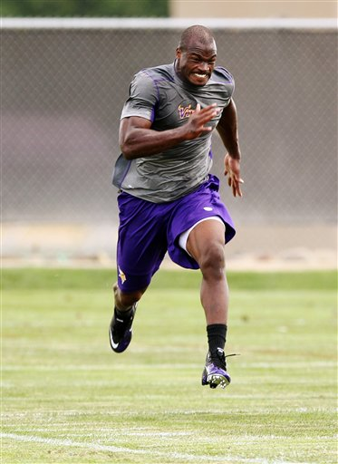 Adrian Peterson Workout Routine Diet Plan Body Stats