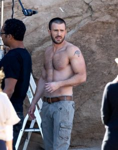 Chris Evans Body