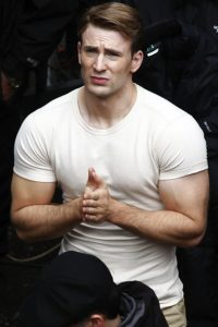 Chris Evans Muscle