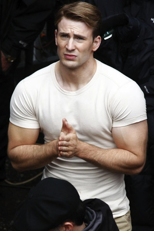 Remarkable, chris evans captain america body can believe
