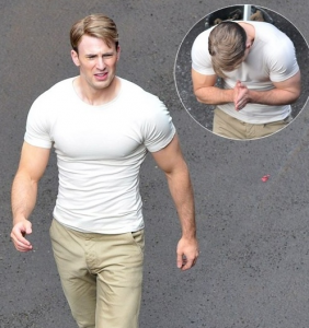 Chris Evans Training