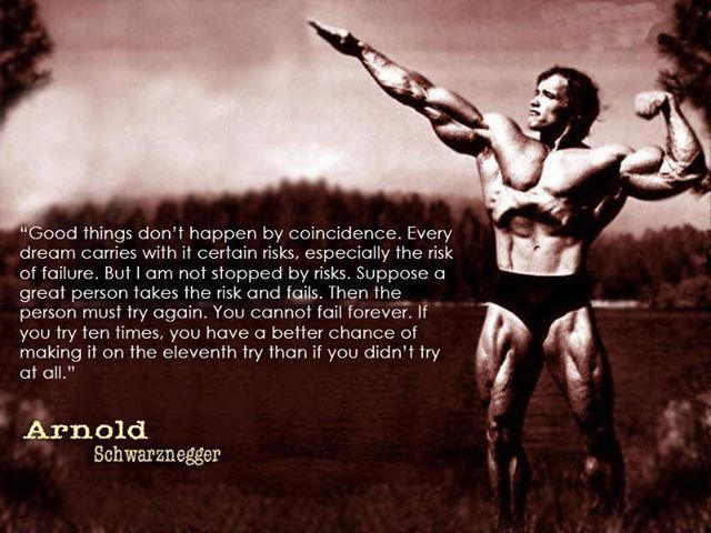 Bodybuilding Quotes Cool Schwarzenegger Bodybuilding Quotes