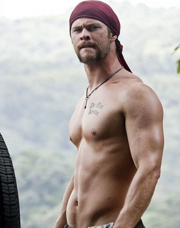 Chris Hemsworth Thor Workout Diet Weight Loss Body Stats on Shape Hunt
