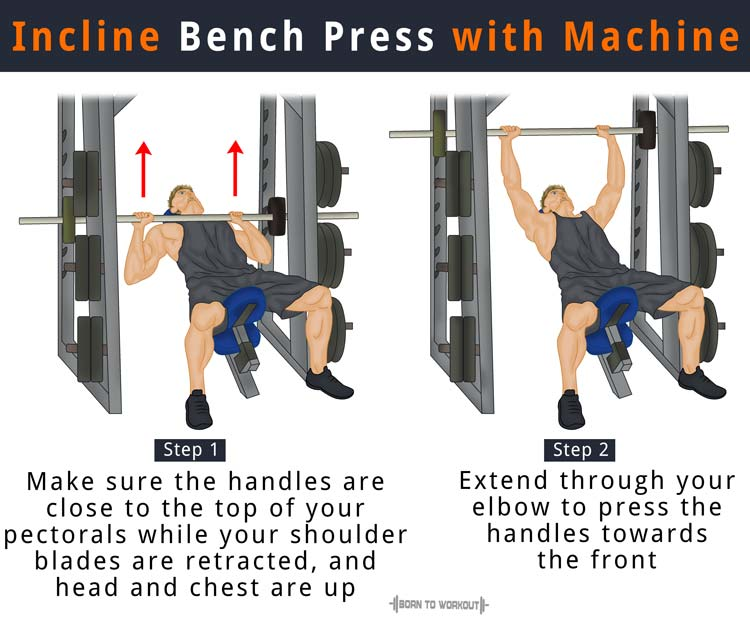 Fabulous Incline Bench Press How To Do Benefits Forms Muscles Pabps2019 Chair Design Images Pabps2019Com