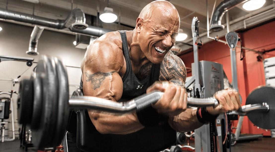 Dwayne The Rock Johnson S Workout Routine Diet Plan Body Stats Born To Workout